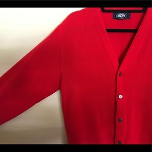 Vintage Knights Bridge red Carrigan size L